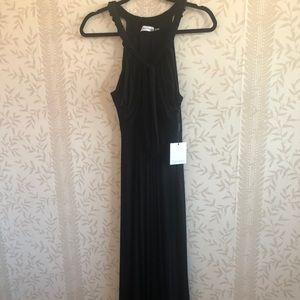 Gorgeous Calvin Klein Long Black Dress size 8
